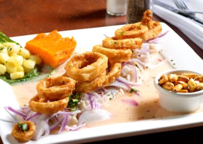 peruvian restaurant sabor inka ceviche